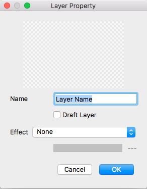 Change layer name