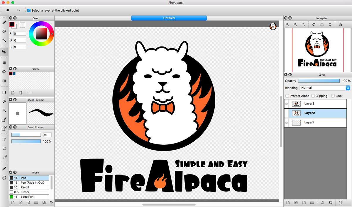 FireAlpaca | Free Digital Painting Software