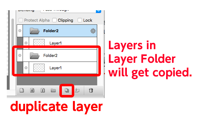 Diagram:Duplicate layers with Layer Folder